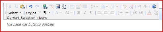 Modified Content Editor Control