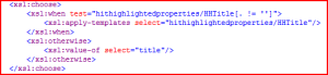 XSL for Hit Highlighting in the Title of a document