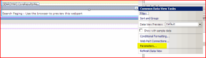 Search Web Part Properties in SharePoint Designer