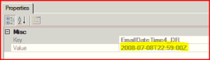 Date In SharePoint Manager - Although this is supposed to be UTC, it is the same as the local time