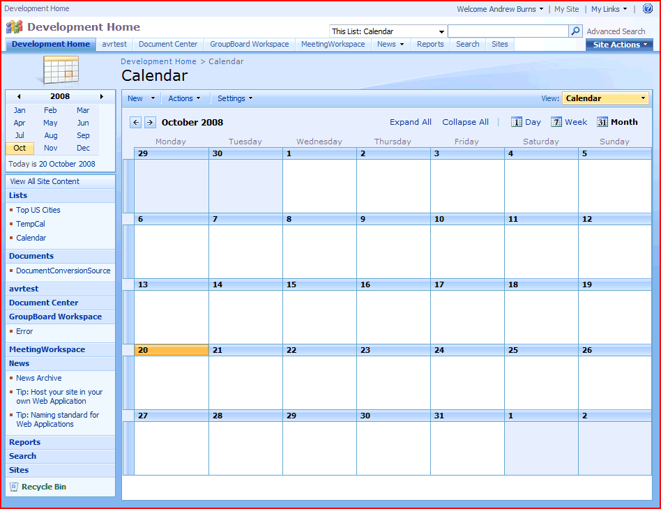 Calendar and Gantt views have nothing to do with Calendar or ...