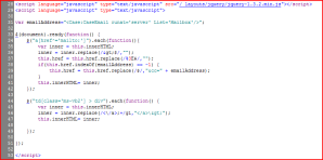 jquery-code-to-fix-page