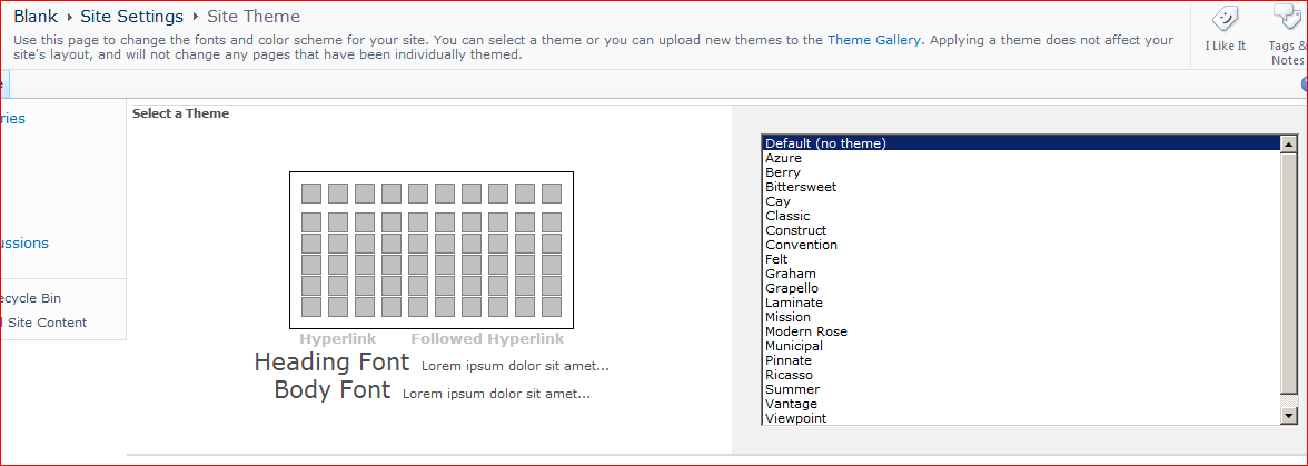 SharePoint Theme Settings page and Enhanced Theming – Andy Burns' Blog